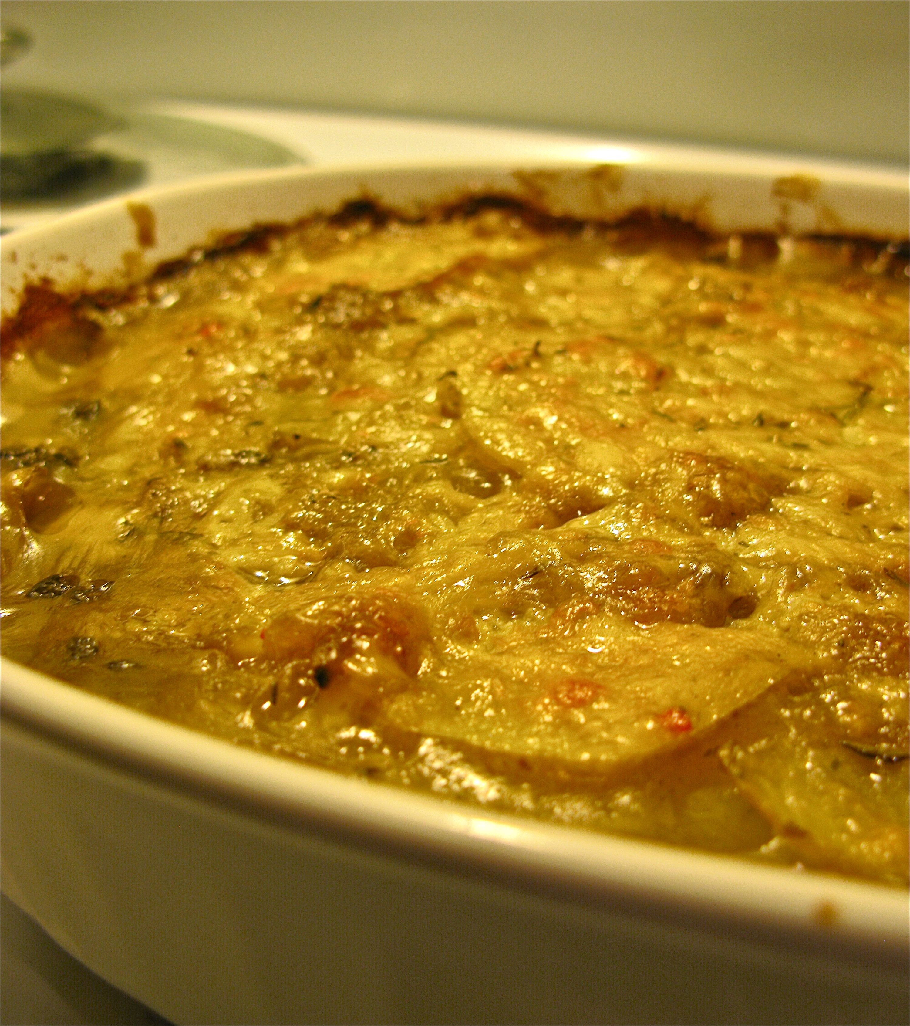 SCALLOPED POTATOES « Nest and Sparkle