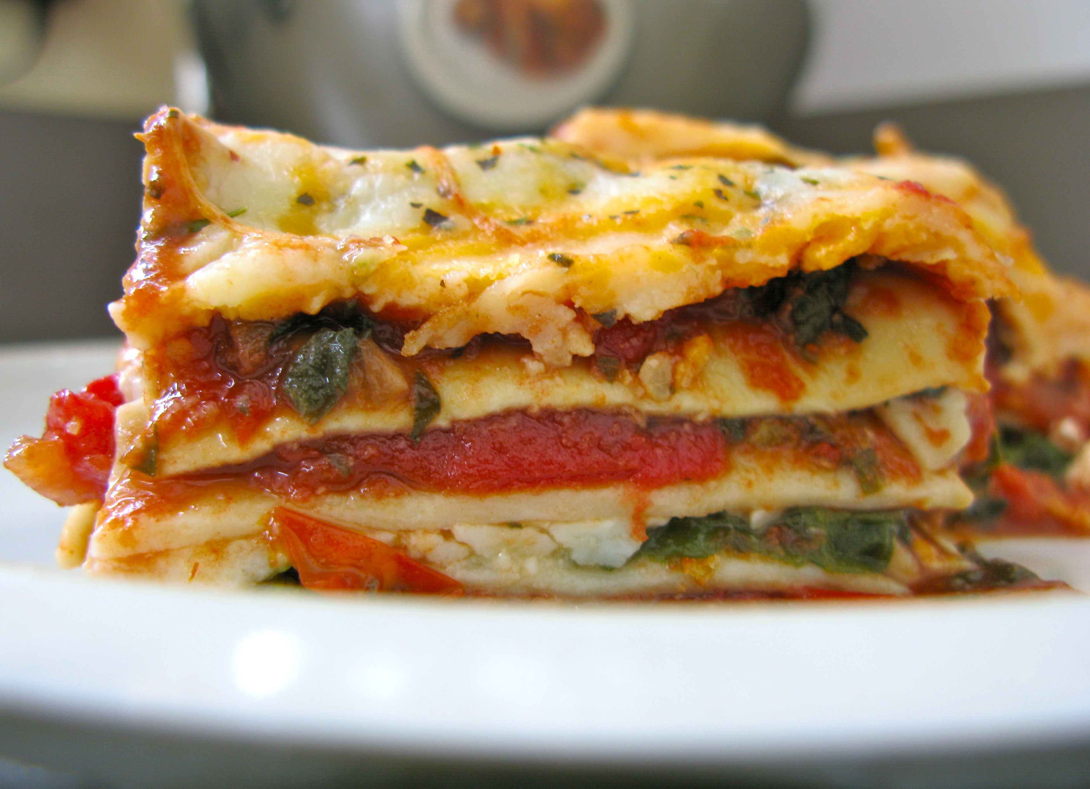 Vegetable lasagna | Nest and Sparkle