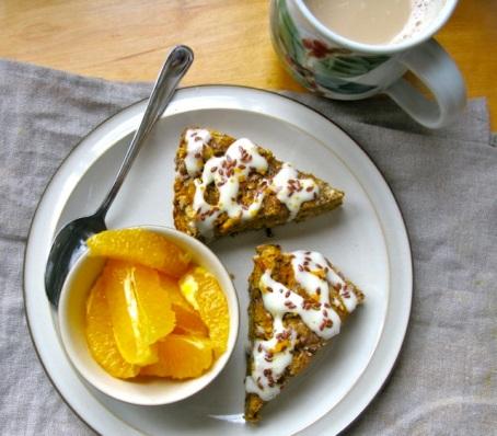 pumpkin scone 2