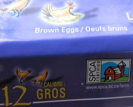 SPCA Certified eggs