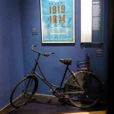 bicycle in the museum