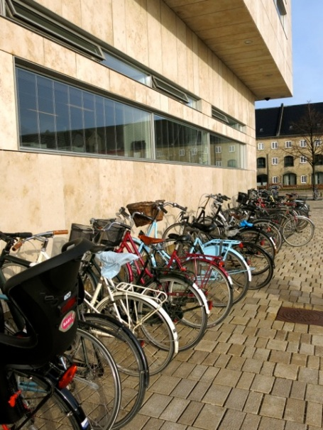 bicycles at the opera